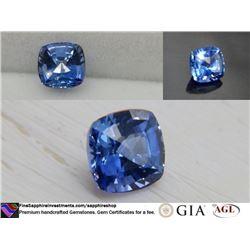 Vivid Cornflower Blue Sapphire fine handcraft 0.87 ct