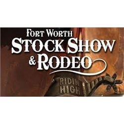 Ft. Worth Stock Show 2021 Rodeo Box seats w/parking and restaurant gift card