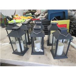 MW- 7- Solar Lantern Candle Style Lights