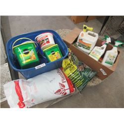 MW- Package of Approx 40 lbs Yard Fertilzer Weed Spray Plant Insecticide