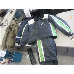 MW- Package of 3 Items 1-1970's Arctic Cat Jacket & Pants, 2 Other Winter Jackets