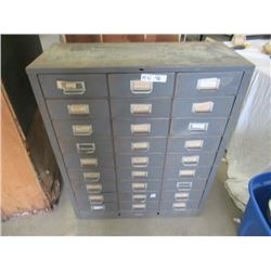 MW- Metal Index Cabinet- 27 Drawer