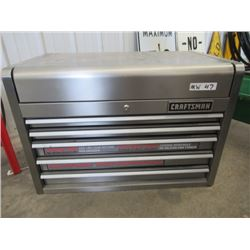 MW - Craftsman Stainless Steel Tool Cabinet