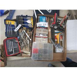MW- Drill Bits, Staplers/Staples & Wood Screws