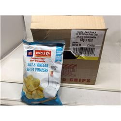 Case of Circle K Favourites Sal& Vinegar Potato Chips (66g x 12)