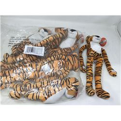 Lot of 18in Plush Tigers (6)