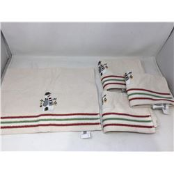 Snowman Collection Towel Set