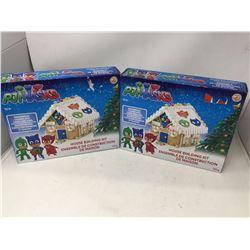 PJ Mask Gingerbread House Building Kit (2 sets)