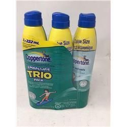 Coppertone Kids SPF 60 Spray Lotion (3 x 222ml)