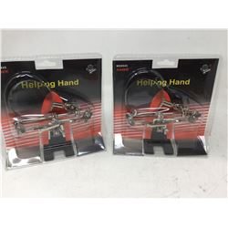 Helping Hand Table Clamp Magnifying Glass (2ct)