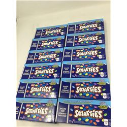 Lot of Nestle Smarties (12 x 75g)