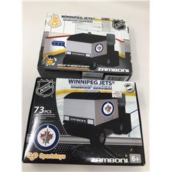 Winnipeg Jets Zamboni Building Blocks