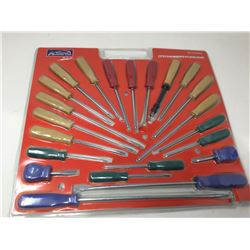 22 pc Screwdriver Set