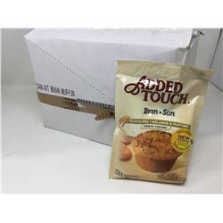 Case of Added Touch Bran Muffin Mix