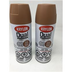 Krylon Dual Superbond Paint & Primer- Satin Finish