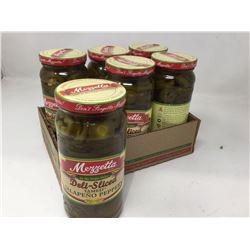 Mezzetta Deli-Sliced Tamed Jalapeno Peppers (6 x 473ml)