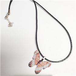 """Natural Butterfly Leaf 18"""" Necklace, Suggested Retail Value $60"""