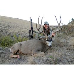 Hunt any of Oregon's deer species with the legal weapon of your choice during this extended 4-month