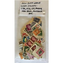 100 + MISC STAMPS