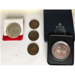 GR OF 5 COINS