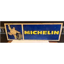 """MICHELIN PLASTIC DOUBLE SIDED SIGN - 12"""" X 36"""""""