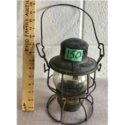 ANTIQUE CNR RAIL LANTERN