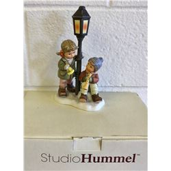 HUMMEL FIGURINE - MAKING SPIRITS BRIGHT