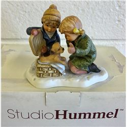 HUMMEL FIGURINE - HOLIDAY SURPRISE