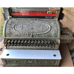 NATIONAL MFG CO. ANTIQUE CASH REGISTER
