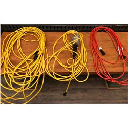 GR OF 3, EXTENSION CORDS