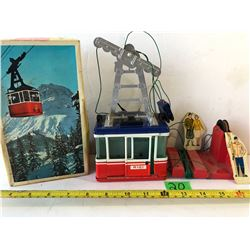 D.G.M. TOYS  TIN RIGI 900 WITH WORKING PARTS
