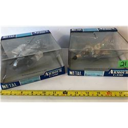 ARMOUR 1:100 COLLECTION - GR OF 2 AIRCRAFT METAL TOYS