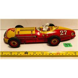 MARX WINDUP TIN RACE CAR