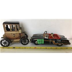 GR OF 2 TIN TOY VEHICLES
