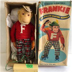 "ALPS ""FRANKIE THE ROLLER SKATING MONKEY"""