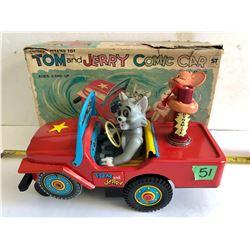 "MODERN TOYS ""TOM & JERRY"" COMIC CAR"