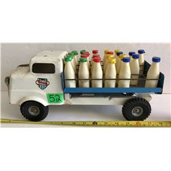 TRI-ANG VINTAGE TIN MILK DELIVERY TOY TRUCK