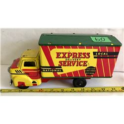 WYANDOTTE TOYS TIN DELIVERY TRUCK