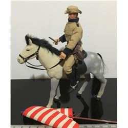 'SOLDIERS OF THE WORLD' FIGURINE ON HORSEBACK
