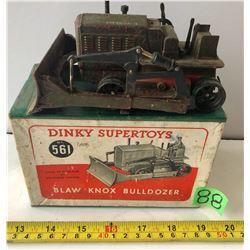 DINKY SUPERTOYS BLAW KNOX BULLDOZER