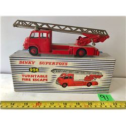 DINKY TOYS TURNTABLE FIRE ESCAPE TRUCK