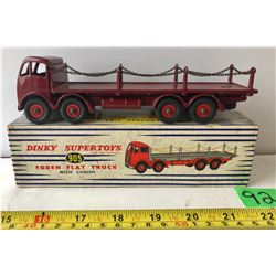 DINKY SUPERTOYS FODEN FLAT TRUCK WITH CHAINS