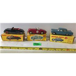 GR OF 3 DIE-CAST DINKY CARS