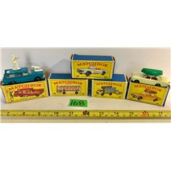GR OF 5, LESNEY PRODUCT - MATCHBOX SERIES