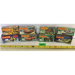 GR OF 8 LESNEY PRODUCTS MATCHBOX 75 SERIES TOY VEHICLES