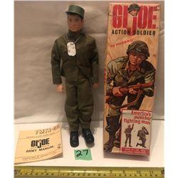 HASBRO GI JOE ACTION SOLDIER