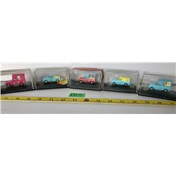 GR OF 5 OXFORD TOYS RAILWAY SCALE DIE-CAST VEHICLES