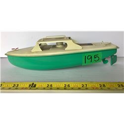 SUTCLIFFE TIN BOAT WITH PROPELLER
