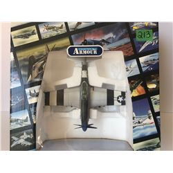 GR OF 2, FRANKLIN MINT ARMOUR COLLECTION TOY MILITARY PLANE