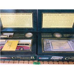 GR OF 2, CORGI CLASSICS - CONNOISSEUR COLLECTION BUSES